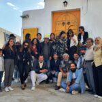 ورشة ايمان حديدان للخزف بنابل تستقبل ضيوف ملتقى نيابوليس الدولي للخط العربي